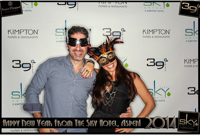 New Years Eve 2014 at The Sky Hotel Aspen with SocialLight Photo Booths-011