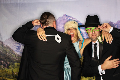 Shale and Marty Get Married in Snowmass-Snowmass Photo booth Rental-SocialLightPhoto com-173