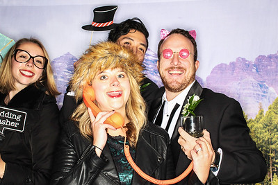 Shale and Marty Get Married in Snowmass-Snowmass Photo booth Rental-SocialLightPhoto com-21