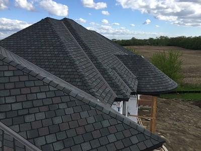 Asphalt Roofing Installation & Aluminium Gutters