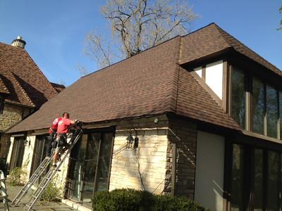 Asphalt Roofing Shingle Installation