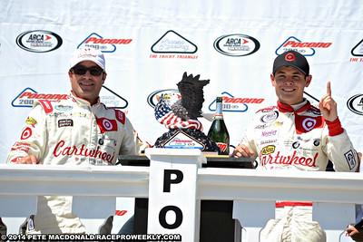 ARCA ReMax Series Pocono Raceway 6/7/14 - Pete MacDonald