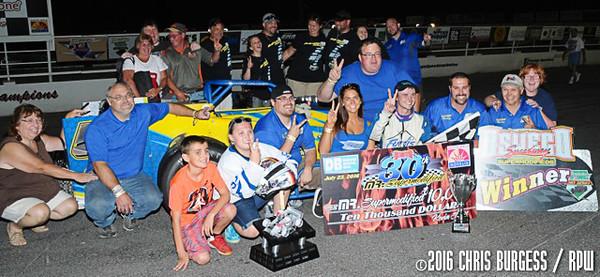 Oswego Speedway - 7/23/16 - Chris Burgess