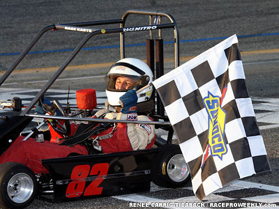 All Star Champ Kart Race 1st Race Winner - Harry Schaeffer