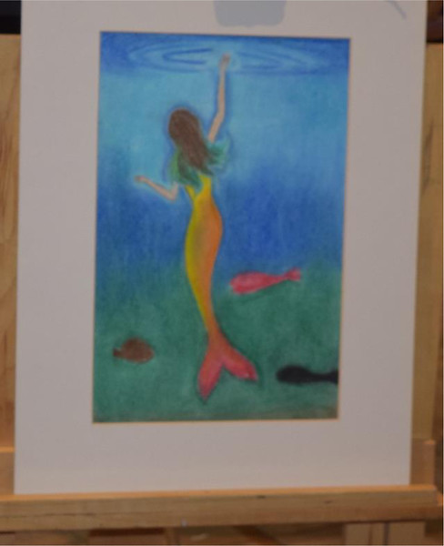 One of the many pastels that was displayed at the BGCGL's regional art show.