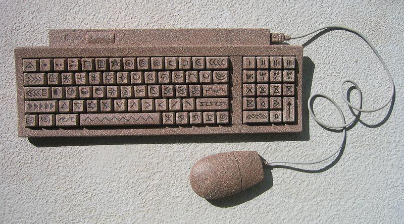 Petroglyph Keypad II (metal and plastic)
