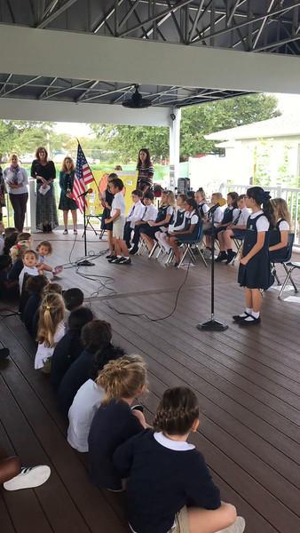 2nd Grade Hosts Morning Assembly 2016