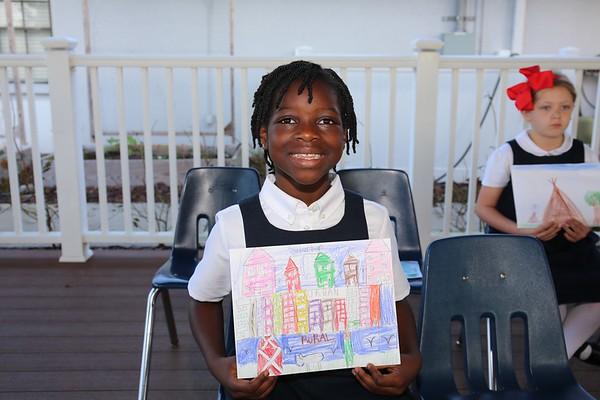2nd Grade Hosts Morning Assembly