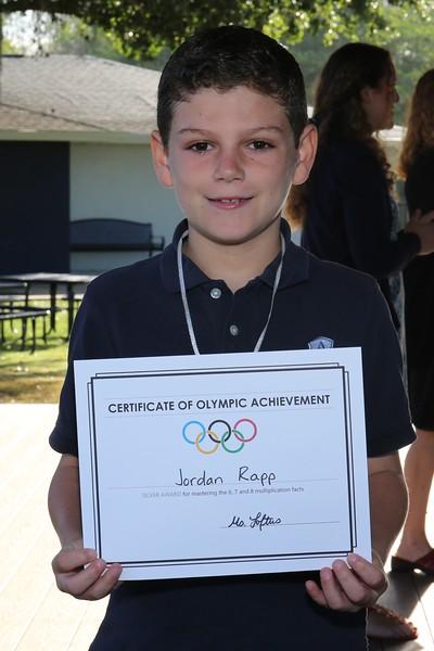 3rd Grade Multiplication Siver Olympics