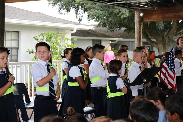4th Grade Patrol Assembly