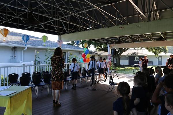 4th Grade's Final Morning Assembly 2018