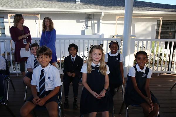 Third Grade 25th Anniversary Assembly Oct. 2017