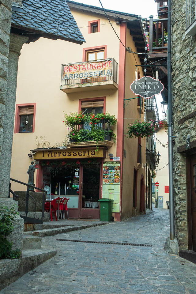 Learning Interest Facts About Andorra While Exploring the Back Streets of Andorra Capital, Andorra la Vella