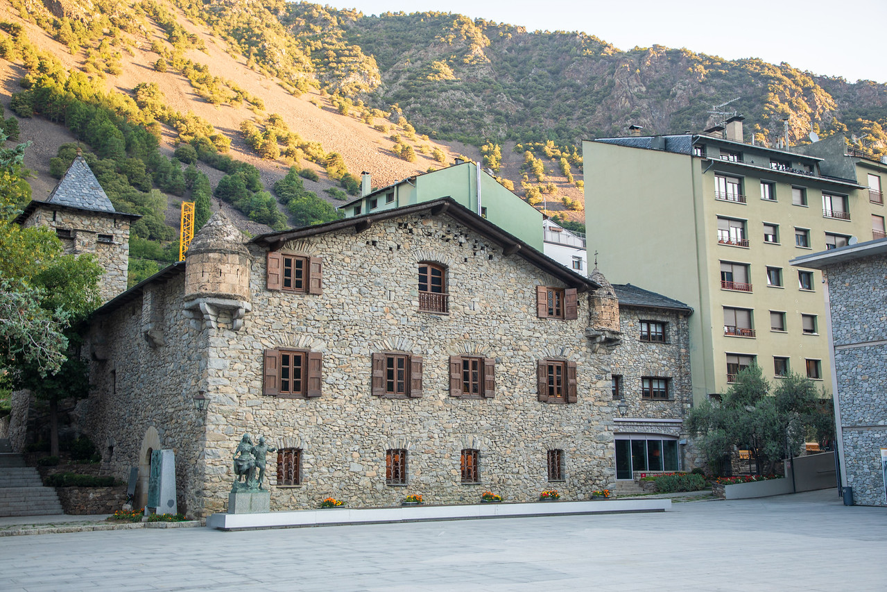 Fun Fact About Andorra is that its capital, Andorra la Vella, Has One of the Oldest Parlament Buildings in Europe