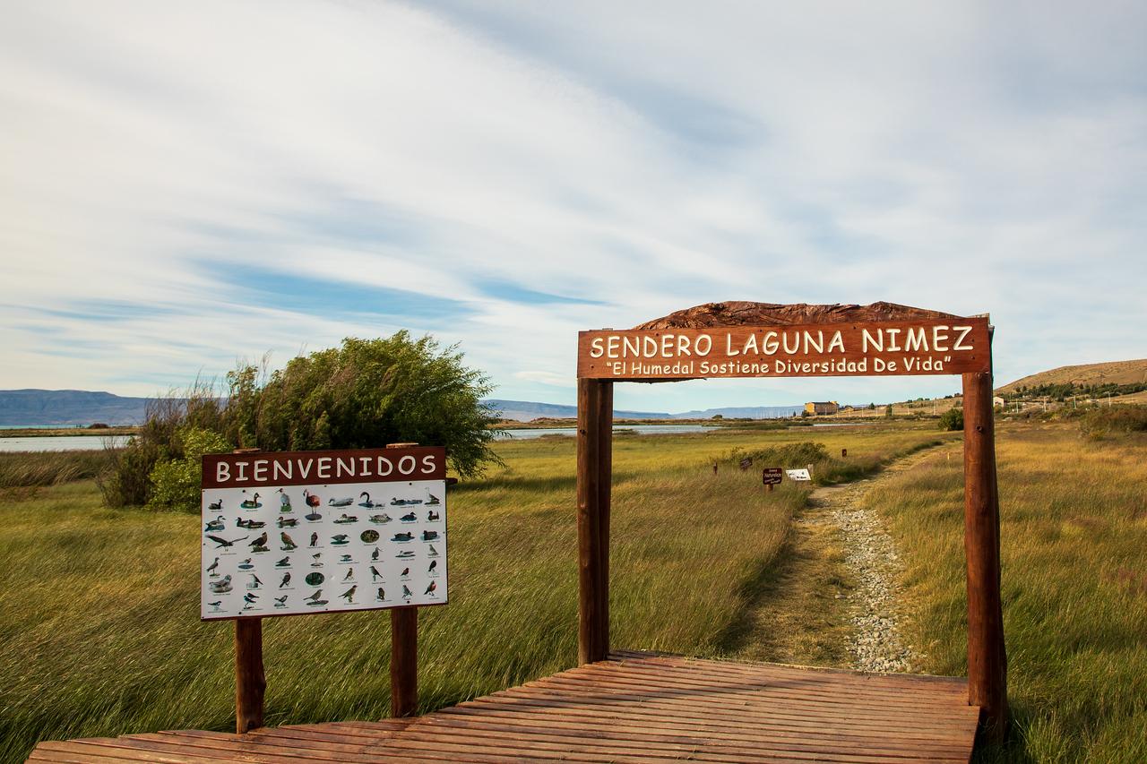 Entrance to Reserva Laguna Nimez in El Calafate