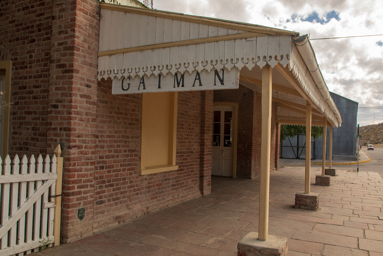 Railway Station In Gaiman , Argentina