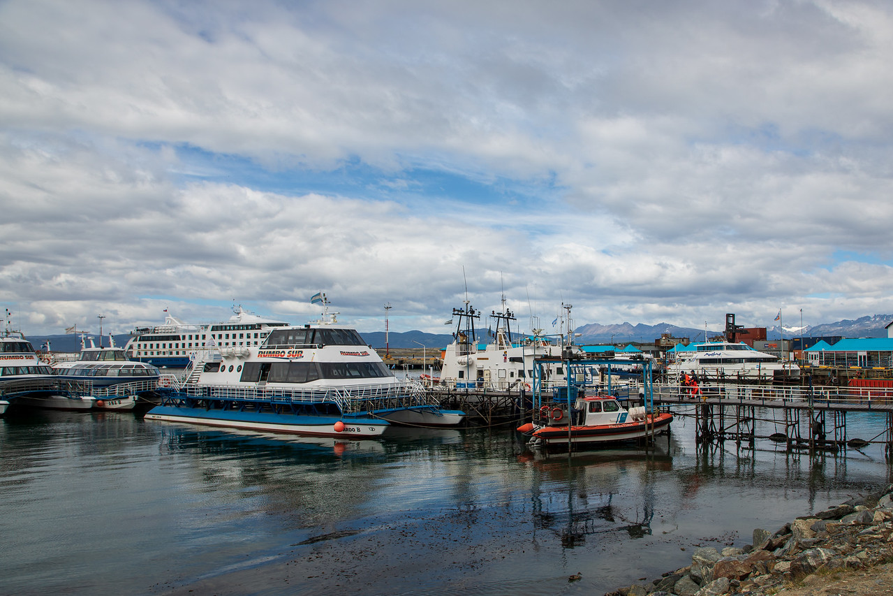 The Harbor At The End Of The World In Ushuaia