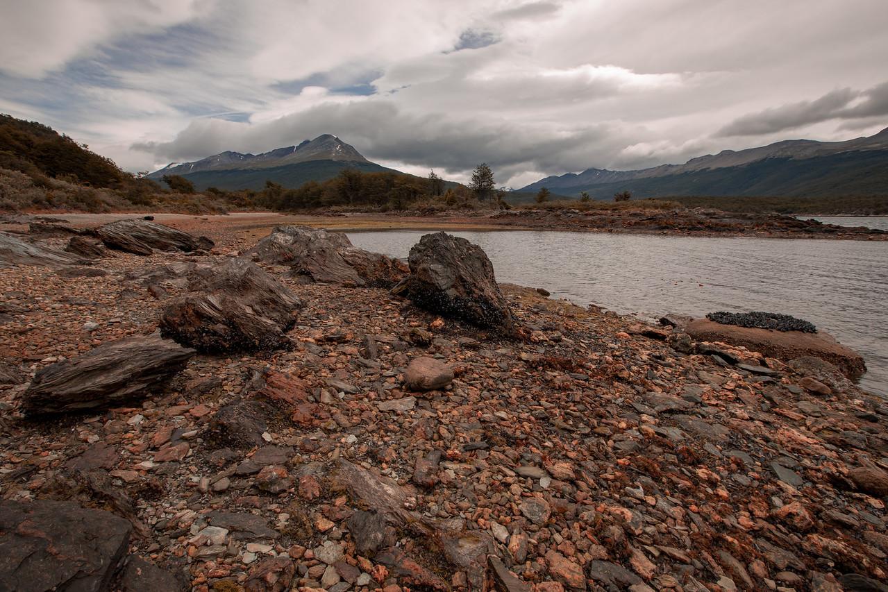 Landscape Of Terra Del Fuego Park, Patagonia, Argentina