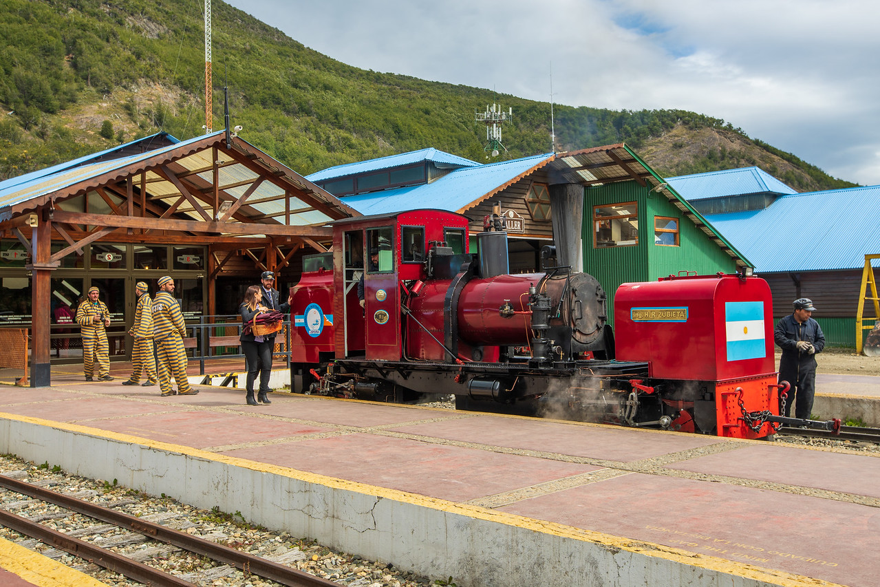 End Of The World Train In Ushuaia, Patagonia, Argentina