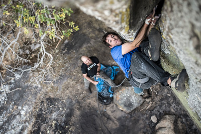 Alex Honnold in Angola