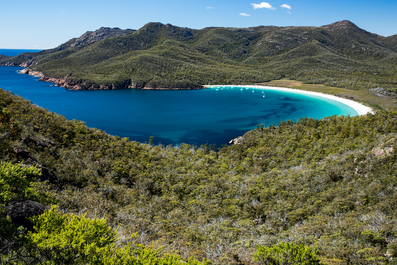 Photo: Wineglass Bay, Australia