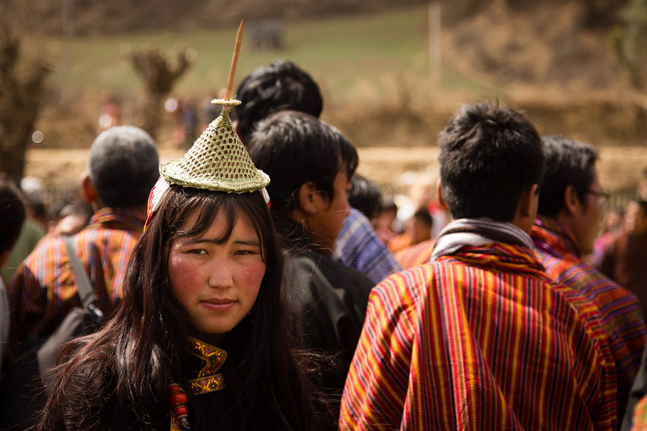 Layap Woman at Bhutan Nomad Festival