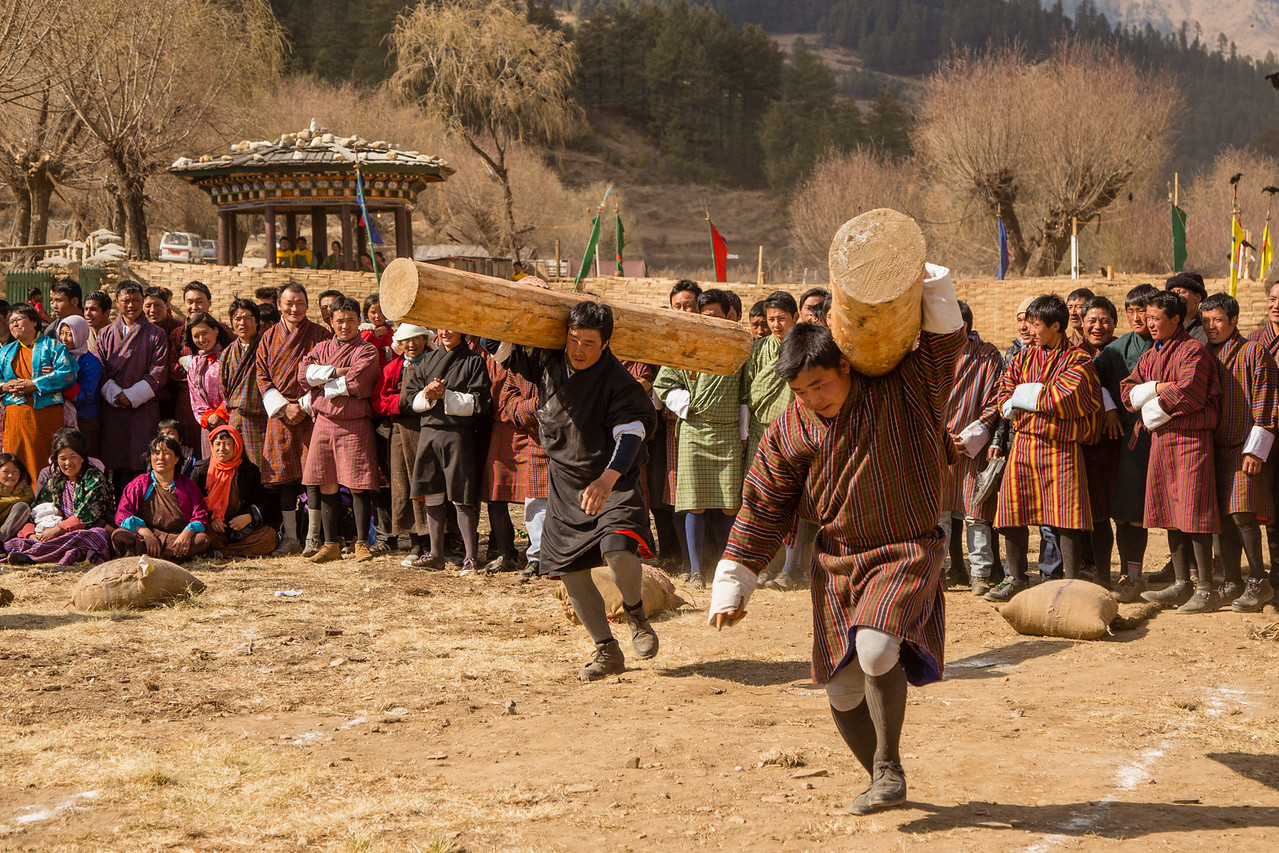 5 Photos from Bhutan's Strongman Competition