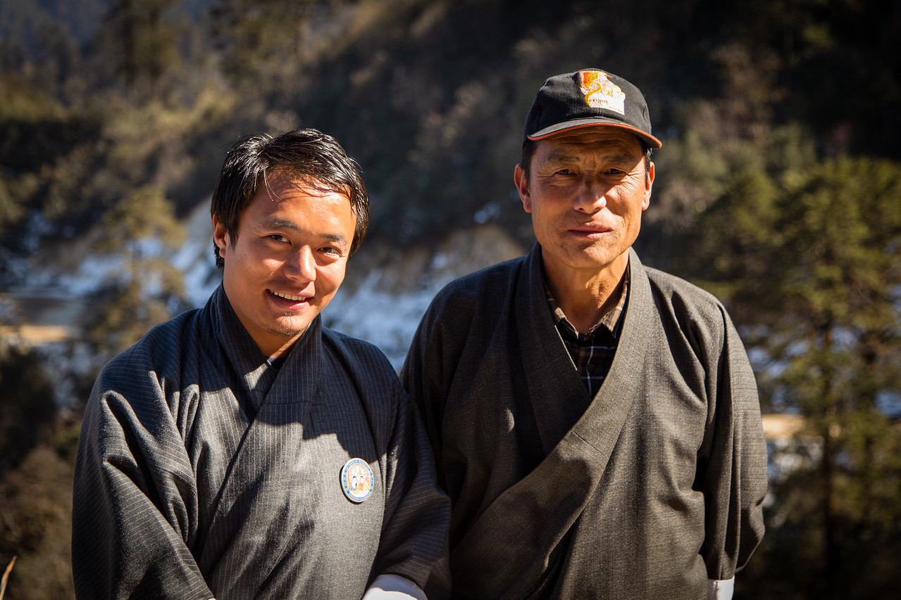 Guide and Driver Norbu and Nitu