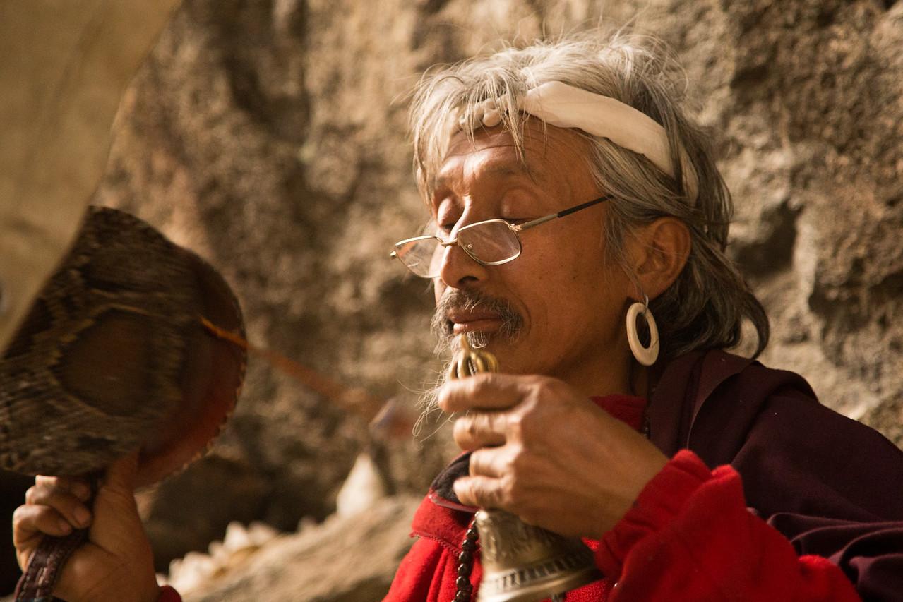 The Hermit Monk of Burning Lake Bhutan