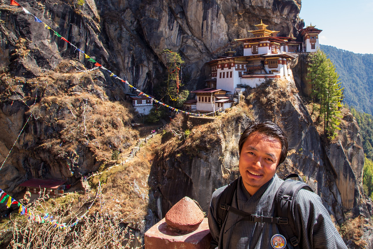 Our Bhutanese Guide Norbu