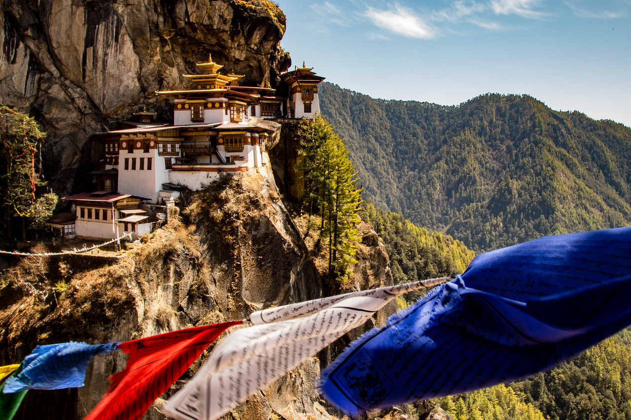 Hiking Tiger's Nest Monastery in Bhutan