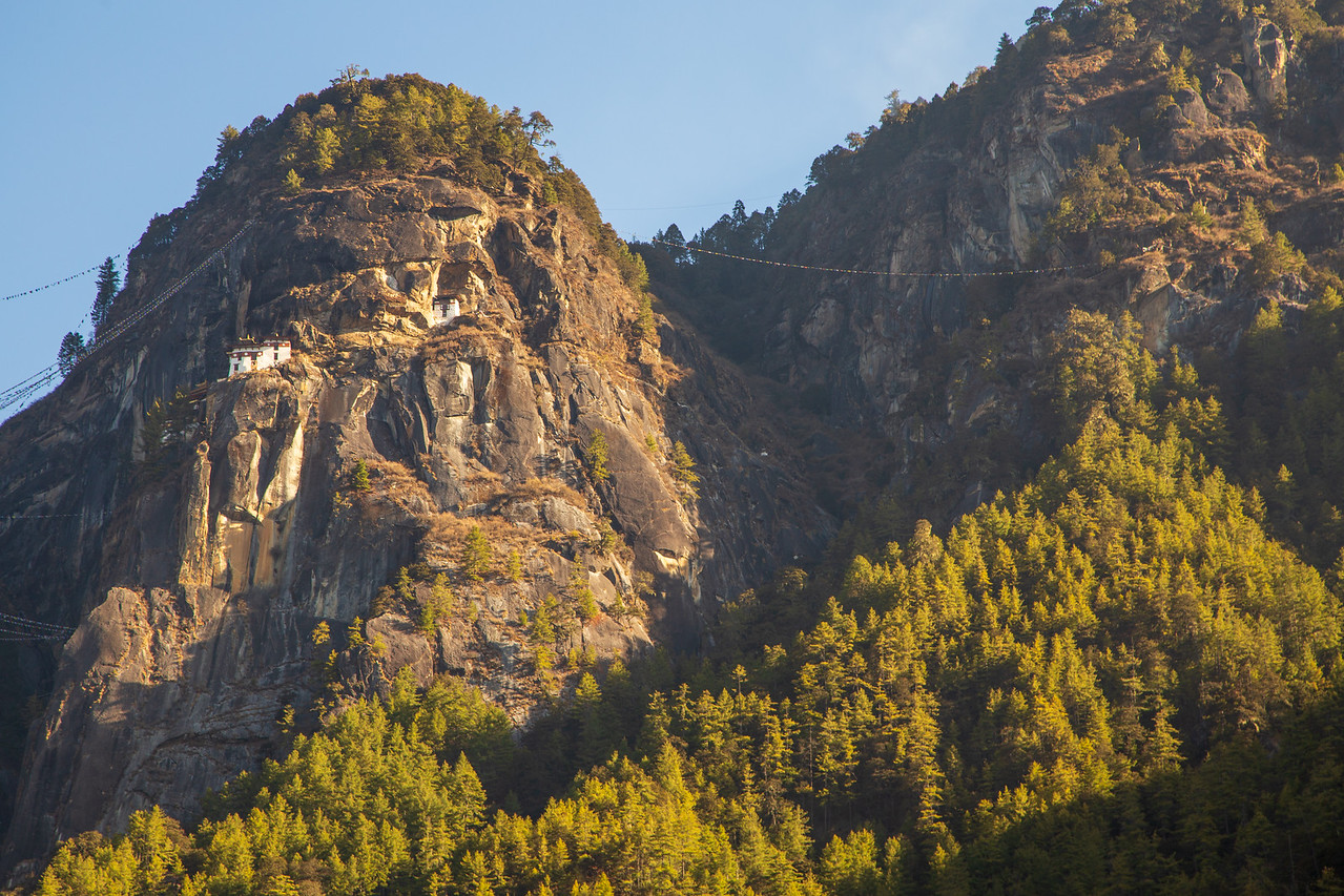 Tiger's Nest From The Parking Lot