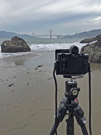 Leica setup on China Beach