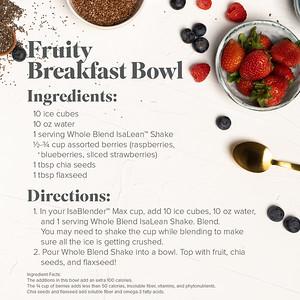 Fruity Breakfast Cereal