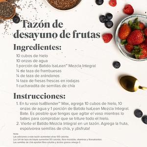 Fruity Breakfast Cereal (Spanish)