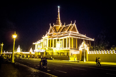 Cremation of the King of Cambodia
