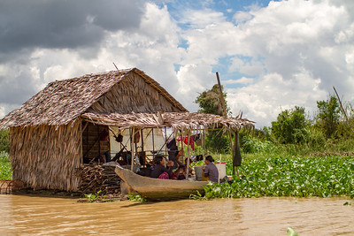 Mechray Floating Village Cambodia