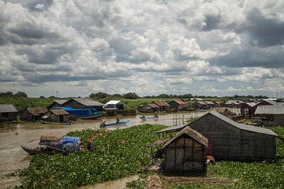 Mechray Floating Village Cambodia