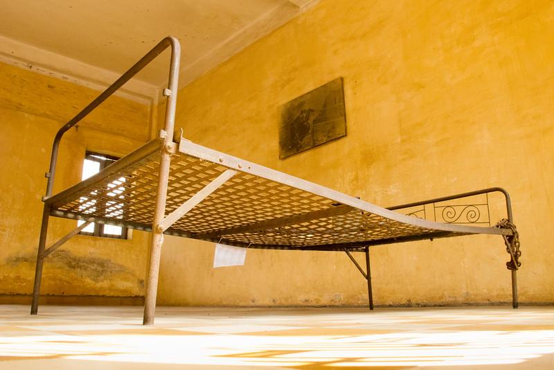 Classroom made into a Torture Room