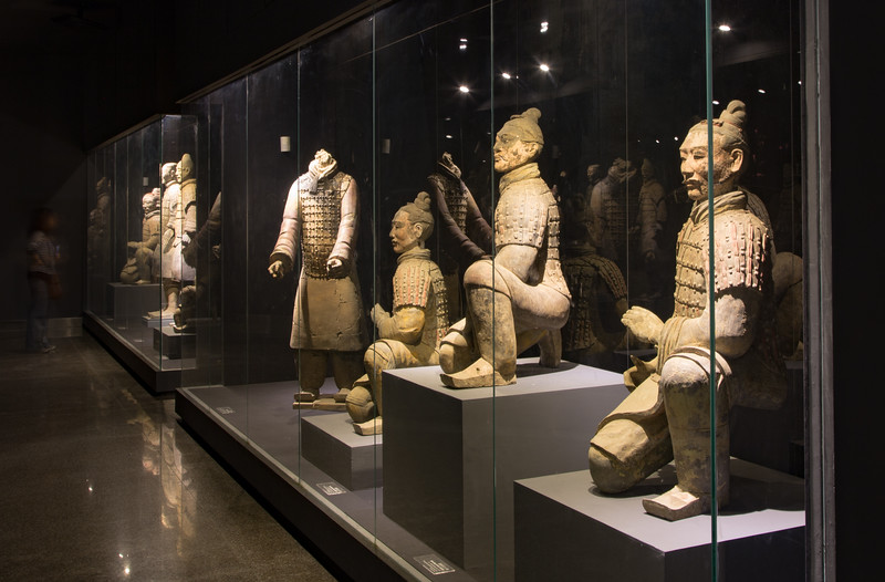 Inside Museum of Terracotta Army