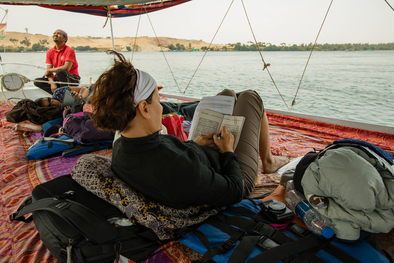 Life Aboard a Felucca Boat on the Nile