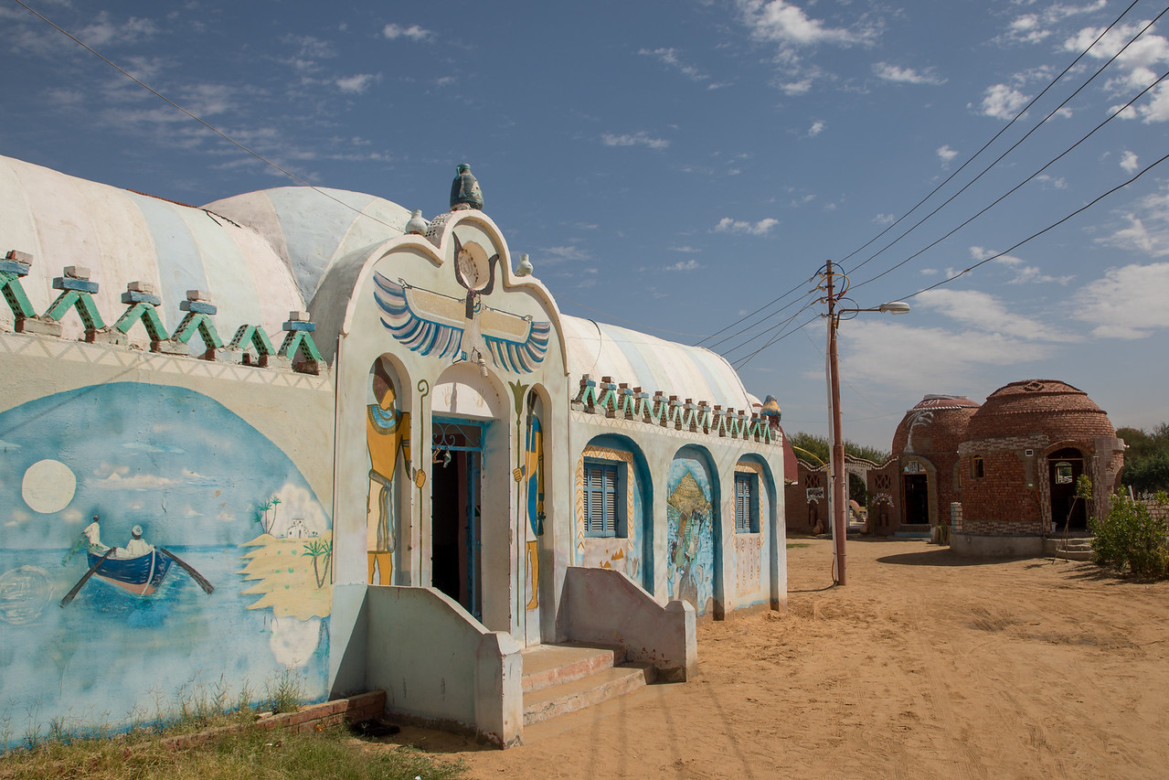 Typical House in a Nubian Village