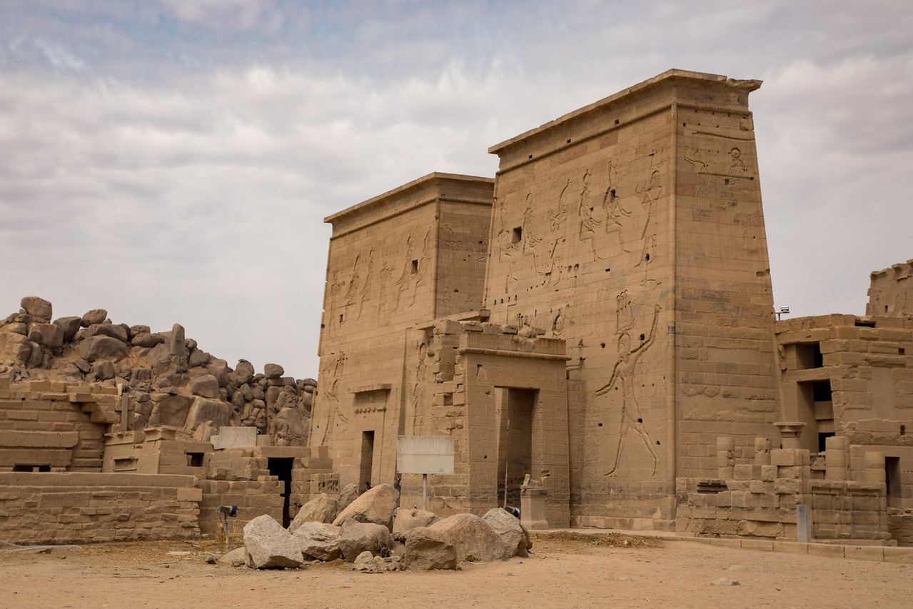 Entrance to the Temple of Isis at Philae