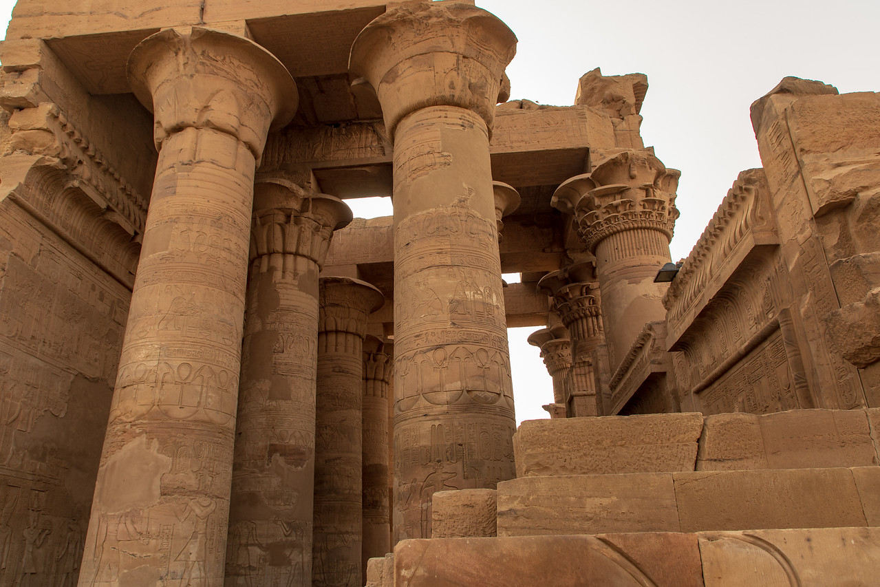 The Greco Roman Influence is Highly Apparent in the Architecture of the Temple of Kom Ombo