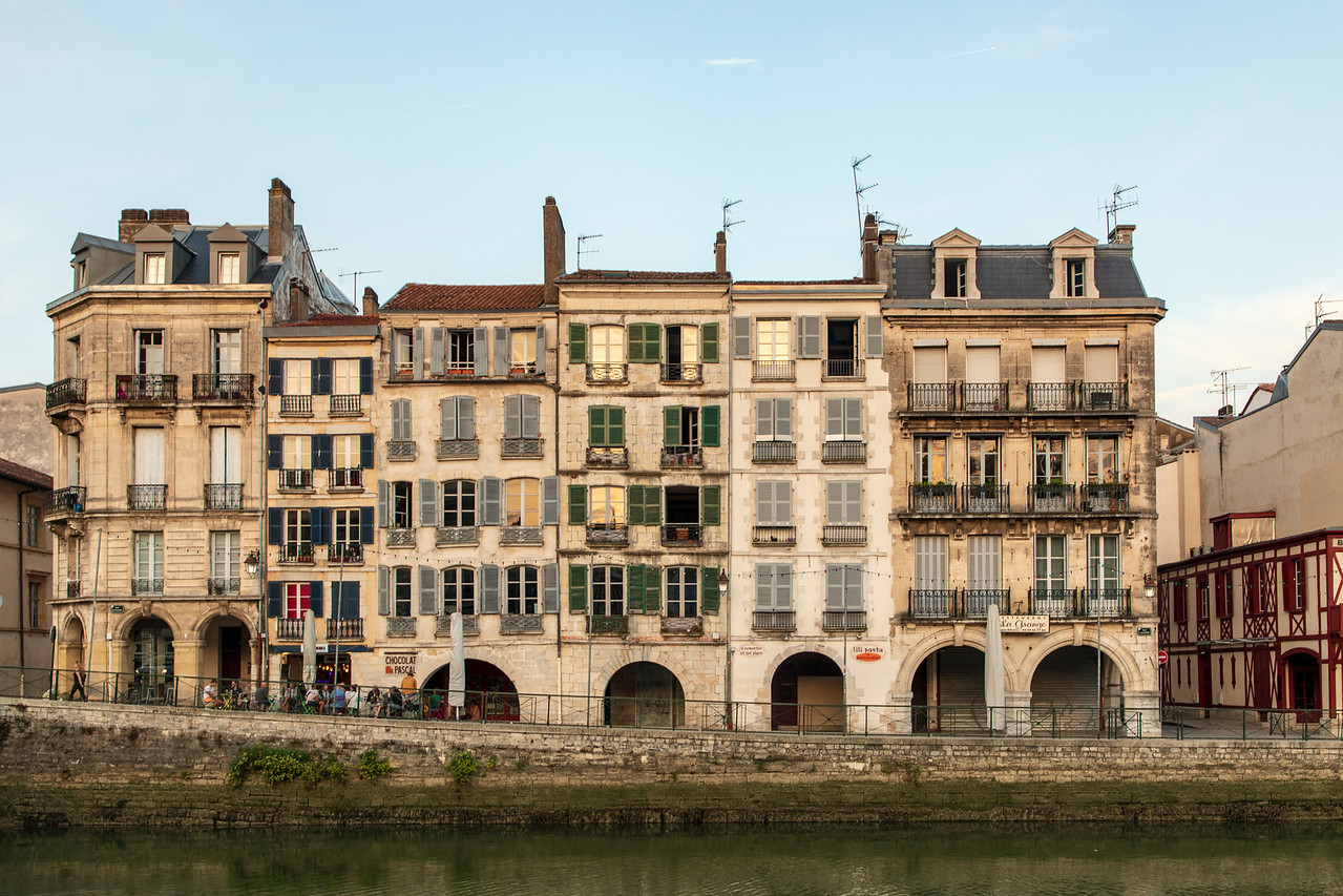 Image of The Architecture of Bayonne, France