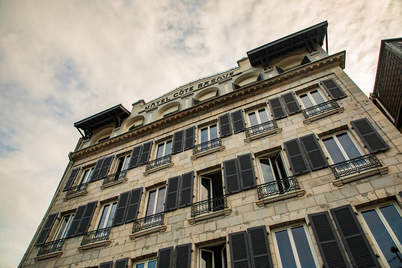 Photo of the Cote Basque Hotel in Bayonne, France