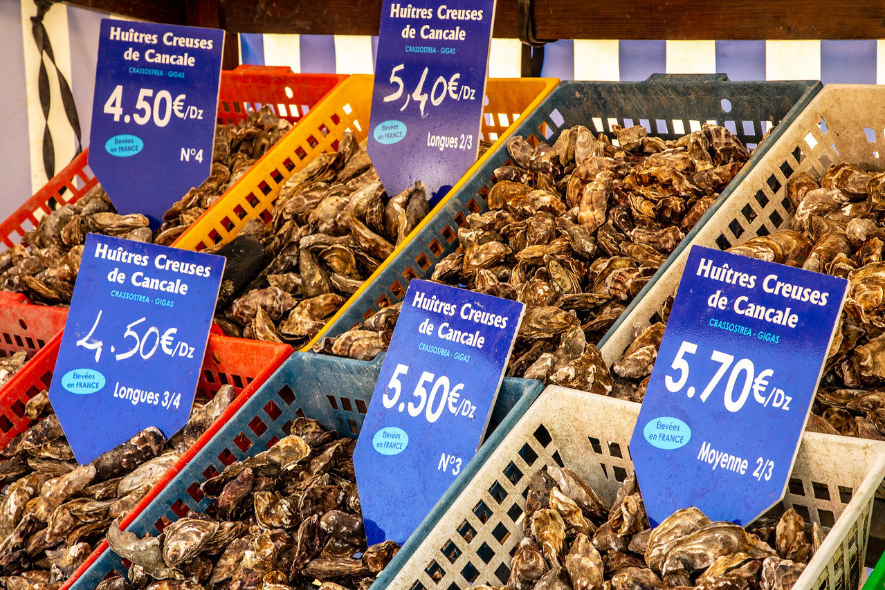 Cancale Oysters For Sale