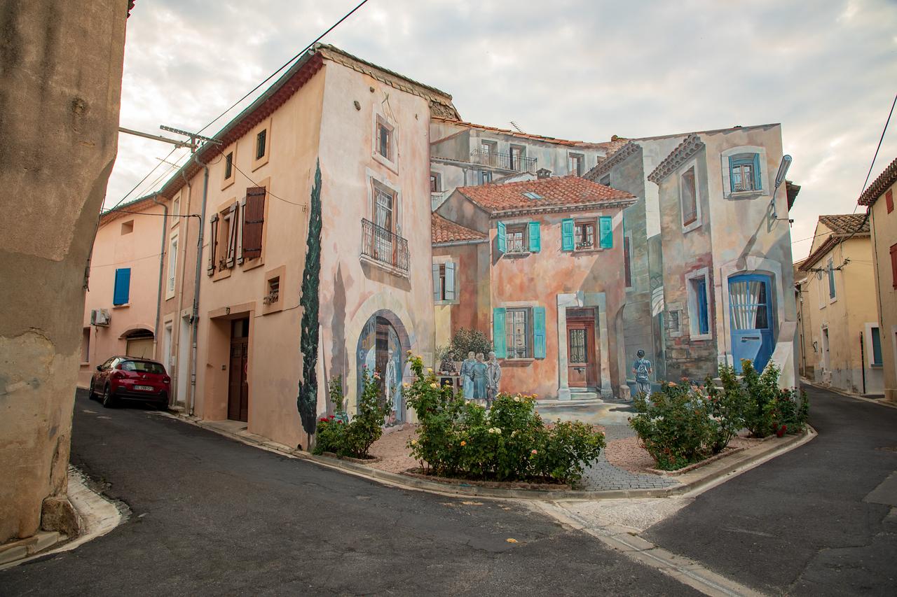 Street Art in Campestang, France