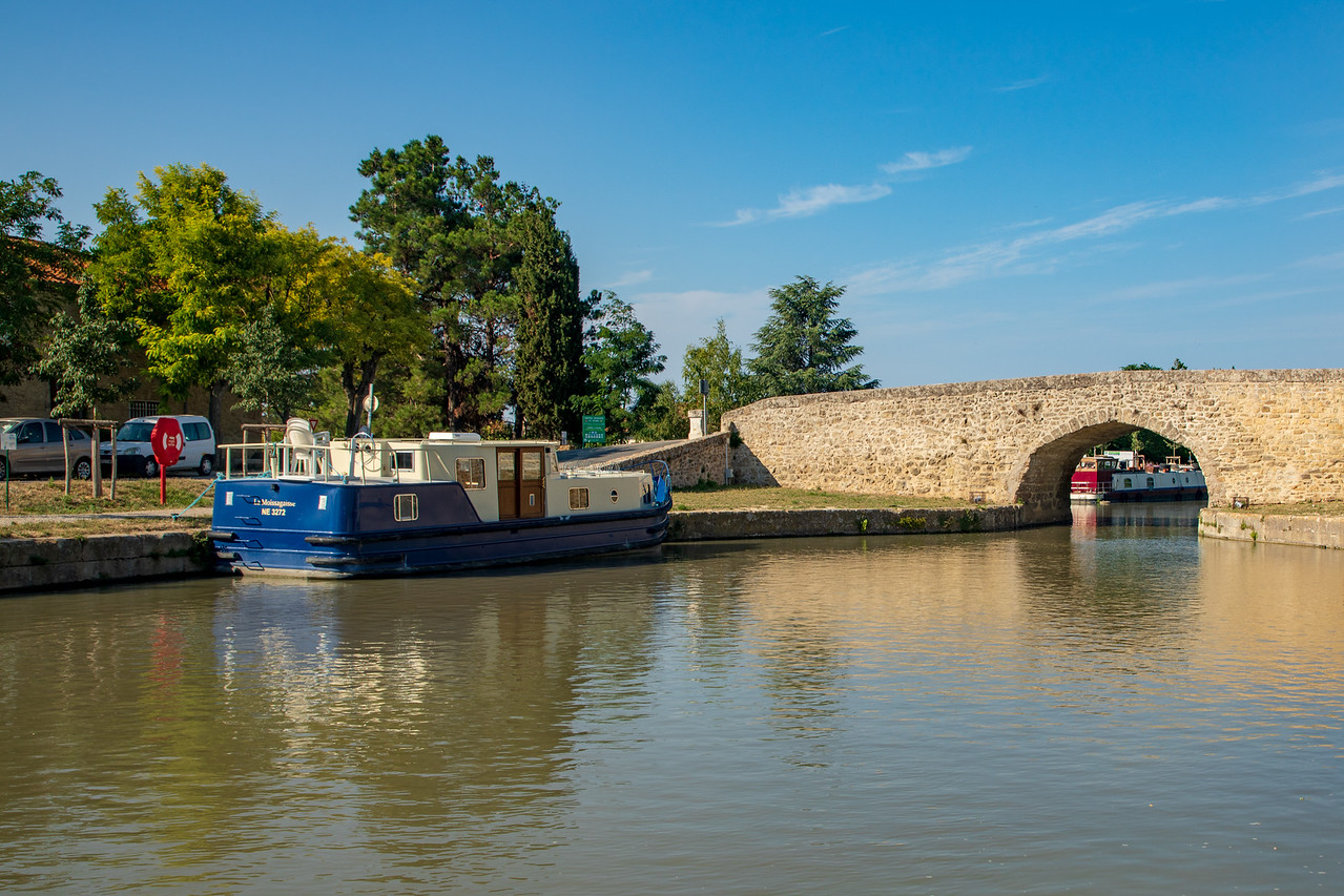The Smallest Bridge on the Canal du Midi is at Campestang