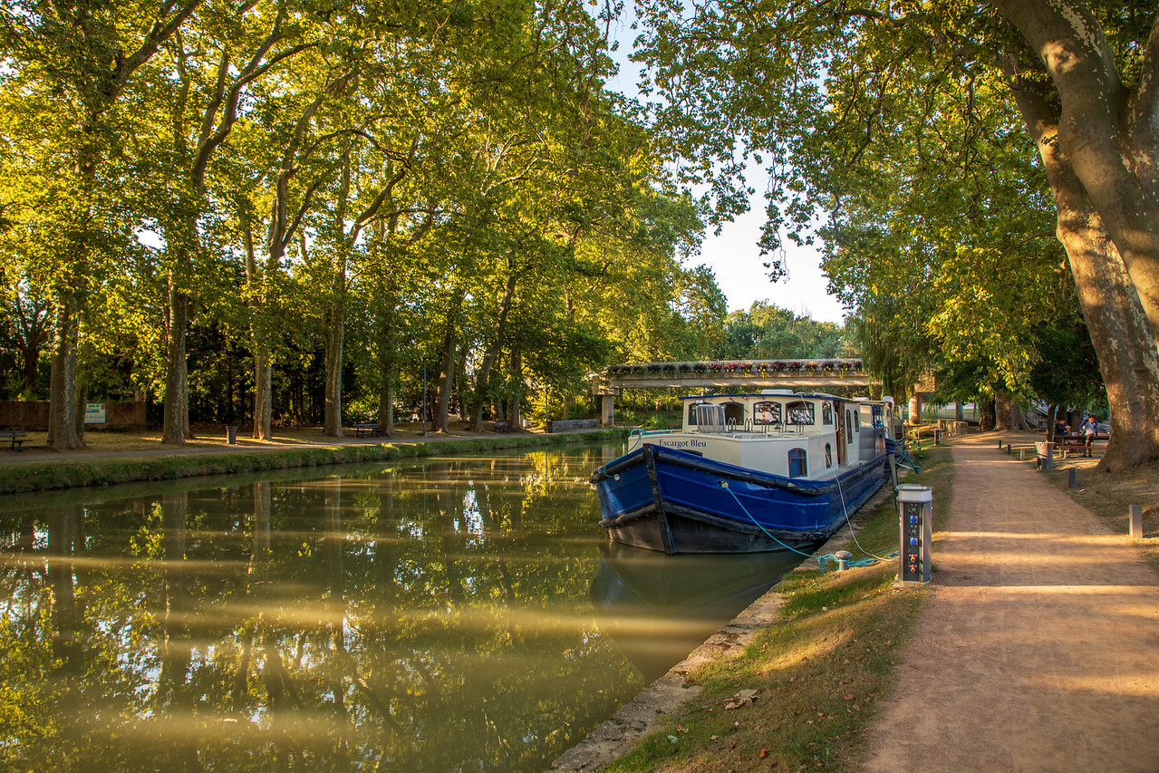 Our Last Mooring on the Canal du Midi in Castlenaudry